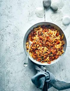 Vegan Mushroom Bolognese Recipe Check out this meat-free bolognese. This version of a family favourite uses mushrooms and plenty of veg, making it a low-fat healthy vegan friendly meal, everyone will love