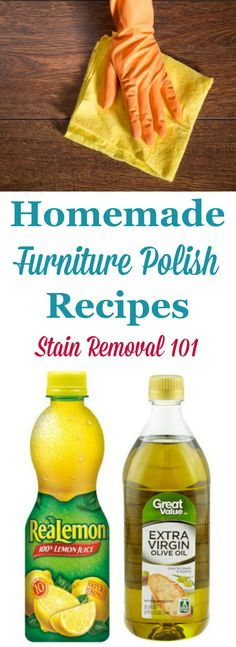 How To Polish Furniture With Coconut Oil  Cleaning tips