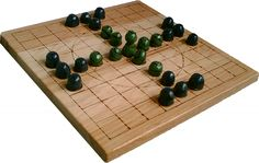 Chapter 10 recounts the history of Tablut, and its descent from the ancient Viking game of Hnefatafl.  Much confusion has obscured the game over the past few centuries, but the book takes advantage of recent research to promote what is probably the most authentic and playable set of rules for this game.  The strategies are discussed in greater depth than you will find in any other book available today.