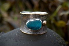 Salt Water Ring by JudithAltrudaJewelry on Etsy, $395.00