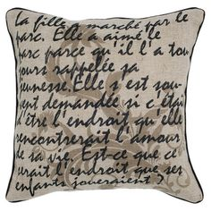 Provencal Pillow at Joss & Main