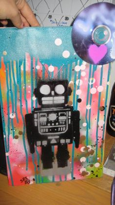love robot....  how is this not painted by me? :)