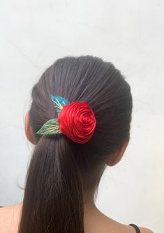 Cute Jewelry, Hair Jewelry, Fashion Jewelry, Women Jewelry, Jewellery, Textile Jewelry, Fabric Jewelry, Gifts For Women, Gifts For Her