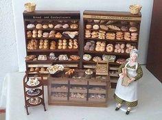1-12-scale-BAKERY-bread-cake-SHOP-roombox-lot-artisan-OOAK-Dollhouse-miniature