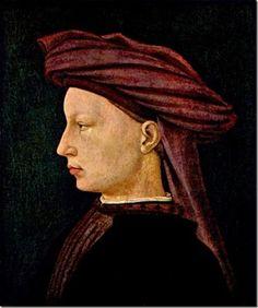 Masaccio, Jeune homme de profil