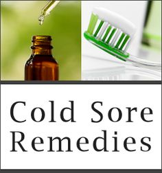 If you have ever had a cold sore/fever blister then you know how nasty they can be. I used to get about one a year and I didn't know there were home remedies that might have worked. So I went to my doctor and got a prescription. I will be filing these away in case I ever get another one.