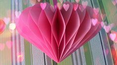 DIY Handmade Gift. How To Make Amazing Paper Heart. Valentine's Day Crafts