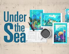 """Check out new work on my @Behance portfolio: """"Under the sea"""" http://be.net/gallery/65827121/Under-the-sea"""