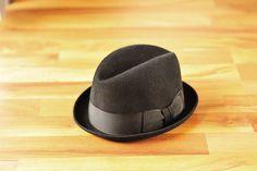 Vintage Sears Mens Fedora Hat Size 6 7/8 by StyleEngineeringCo, $50.00