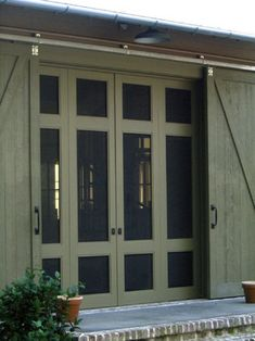 1000 images about sliding screen doors on pinterest for Barn door screen door