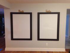 Magnetic white board frames fir kids art Magnetic White Board, Art For Kids, Magnets, Frames, Mirror, Future, House, Ideas, Home Decor