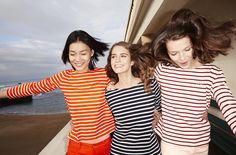 Autumn/Winter 2014-2015 lookbook - http://www.petit-bateau.fr/?CMP=SOC_11732SOU=TYP=SOCKW=pinterest #womensfashion #stripes #petitbateau