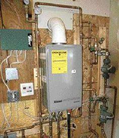 Nti High Efficiency Propane Boiler For In Floor Radiant