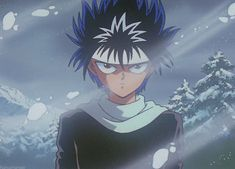Yu Yu Hakusho Hiei, Naruto Shippudden, Pixel Animation, Anime Fight, Anime Expressions, Winter Storm, Funny Video Memes, Tsundere, Aesthetic Anime