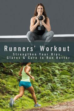 Hip Workout, Running Workouts, Running Tips, Running Training, Running Plans, Mini Workouts, Running Humor, Running For Beginners, How To Start Running