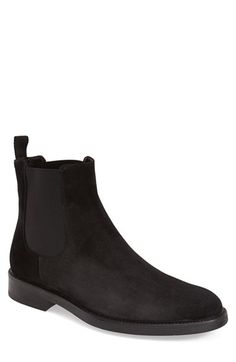 BOEMOS Suede Chelsea Boot (Men) available at #Nordstrom
