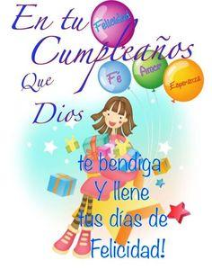 Birthday Ecards for Females Spanish Birthday Wishes, Happy Birthday Ecard, Birthday Wishes For Her, Birthday Quotes For Her, Happy Birthday Princess, Happy Brithday, Happy Birthday Pictures, Happy Birthday Messages, Happy Birthday Greetings