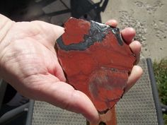 Unknown Red jasper slab from a vintage collection  #175 by JIMMYDEANSGEMSTONES on Etsy