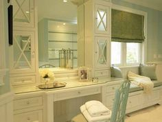 Bathroom Vanity with Seat