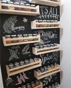 Spice Rack Ideas - the Story Kitchen organization doesn't need to happen overnight, in reality, it's something that you may want to tweak from time to. shed design shed diy shed ideas shed organization shed plans spices Shed Organization, Kitchen Organisation, Diy Kitchen Storage, Home Decor Kitchen, Kitchen Ideas, Kitchen Trends, Kitchen Layout, Kitchen Tips, Shed Design