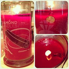 Cinnamon Tea Diamond Candle $24.95  These are a lot of fun and smell pretty good. Not as full of a scent as my scentsy but still fun.