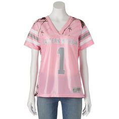 Women's Realtree Eastern Michigan University Game Day Jersey, Size: Medium, Pink