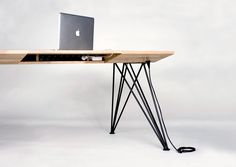 Computer Desk by Christofer Ödmark
