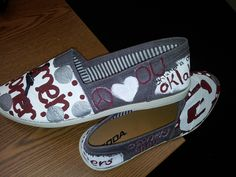 OU SOONERS by MyHeartandSole on Etsy. So cute!!!