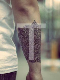 geometric tattoo | Tumblr.. more like a HENNA tat 'if I were to be asked' :)