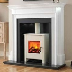 Flamerite Aubade with Electric Atom Stove Suite