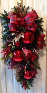 Image result for arreglos navideños con guirnalda alambrada