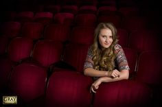 senior picture ideas for girls in drama | Senior Photo Shoot :: The Paramount Theater :: Cool and Unique Senior ...