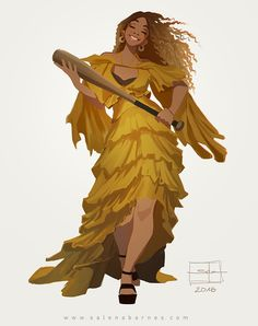 "Beyonce ""HOLD UP"" on Behance"