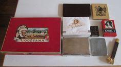 Verzameling oud rookgerei - midden 20e eeuw
