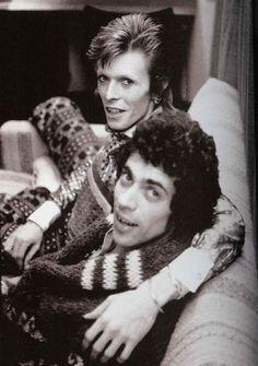 Bowie & Jeff Mc Cormack