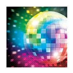 Find this Pin and more on 70\u0027s \u0026 80\u0027s themed Party by WFDenny.  sc 1 st  Pinterest & Pack of 8 70s Disco Round Paper Plates | 80s night | Pinterest ...