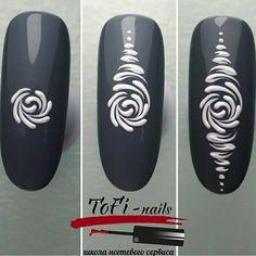 Need Help With Arts And Crafts? Read This Nail Stamping stamping nail art gel polish Stamping Nail Art, Gel Nail Art, Acrylic Nails, Nail Polish, Nail Nail, Airbrush Nail Art, Diy Ongles, Crome Nails, Nail Drawing