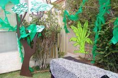 Magalie Sarnataro's props Jungle decor details  Jungle spy backyard Jungle Safari, Spy, The Outsiders, Backyard, Plants, Decor, Patio, Decoration, Backyards