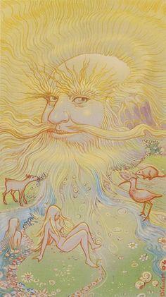 XIX.The Sun: Tarot of Metamorphosis