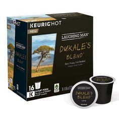 Keurig® K-Cup® Pod Laughing Man Dukale's Blend Medium Roast Coffee - 16-pk., Multicolor