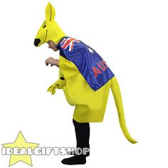 #Adults kangaroo costume #australian flag cape #australia day #rugby fancy dress,  View more on the LINK: 	http://www.zeppy.io/product/gb/2/201258462025/