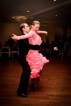 Latin dancing is a great way to stay in shape while having fun.
