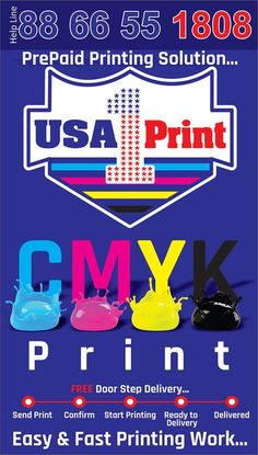 CMYK Print
