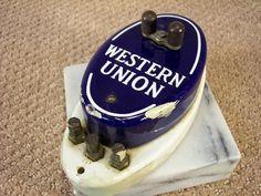 Antique Western Union Call Box by ECCENTRICRON on Etsy