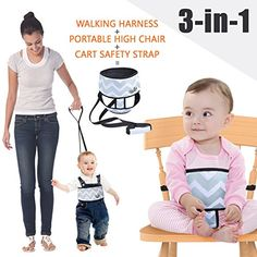 #baby Do you want an easy carry kid safety seat belt? Meanwhile, you also need a toddler harness or shopping cart safety strap? #UMIN 3 in 1 baby chair belt is t...