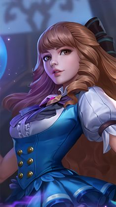 Fleur de Bleau Guinevere Skins Mobile Legends Female Anime, Female Art, Butterfly Wallpaper Iphone, Mobile Legend Wallpaper, View Wallpaper, Cute Pokemon Wallpaper, Fantasy Art Women, Cute Paintings, Mobile Art