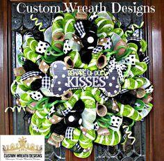 Dog Lovers Lavish Wreath by lilmaddydesigns on Etsy