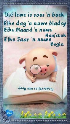 Pig Wallpaper, Cute Piglets, Inspirational Qoutes, Afrikaans Quotes, Little Pigs, Positivity, Motivation, Words, Illustrations