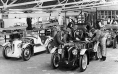 MG factory at Abingdon