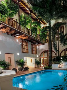 Cartagena de Índias (Colombia) - boutique hotel called Casa San Agustín